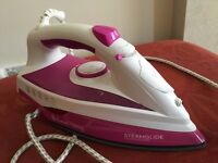 Russell Hobbs Steamglide Professional Iron Pink