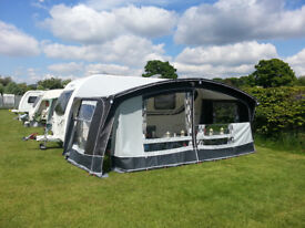 Bailey Orion 440 - 4 2011 Twin Diner/ four berth, rear end washroom, single axle touring caravan.