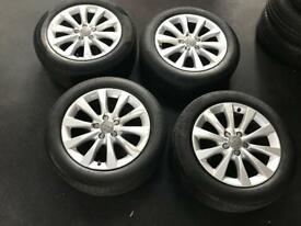 "AUDI 17"" ALLOYS AND TYRES. *BARGAIN***"
