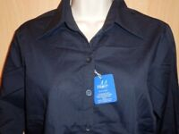 Very Smart Ladies Mandate Work-wear Shirt - Quality New & Bagged Size 12 & 22. 2 - £6.95, 4 - £9.95