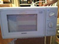 Daewoo Microwave for Spares/Repair