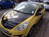 Yellow Vauxhall Corsa 1.0 3DR