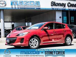 2013 Mazda MAZDA3 GS Heated seats, A/C, Cruise, B/T, manual!