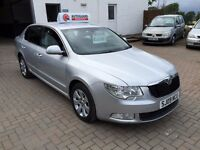 6 MONTHS WARRANTY, 12 MONTHS MOT, 2009 Skoda 1.9 TDi SUPERB S 129k, tidy car & very cheap!