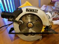 Brand new 240v Dewalt DWE560 circular saw skill saw DWE 560