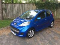 59 PEUGEOT 107 VERVE 1.0 5 DOOR ** 2 OWNERS ** NEW MOT