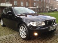 BMW 120D SE 5DR 2006 REG FULL SERVICE HISTORY FIRST TIME START AND DRIVE 12 MONTHS MOT HPI CLEAR