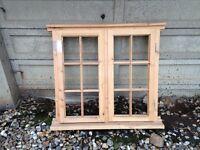 Wooden Pine Window Frame