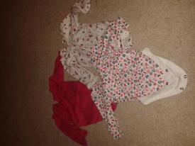 bundle of 16 baby girl clothes