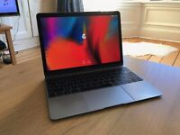 "Apple Macbook 12"", Space Grey, Retina, 8GB ram, 256 Flash HD, Apple Care +1 year. Great condition!"