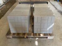 450x450x50mm ~ Block Design Concrete Paving Flags / Slabs ~ New