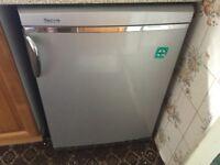 Silver Servis under counter fridge