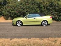 Saab 9-3 Vector Convertible- Low Mileage-Years Mot