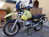 BMW R1100GS, 1998, Kalahari Yellow, excellent condition