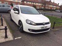 Volkswagen Golf 2.0 TDI GT 3dr white low mailge 2010