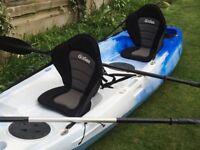 Double sit-on kayak