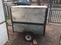Trailer for sale comes with genitor and welding all in one inside trailer