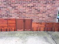 Solid Wood Cupboard Doors.