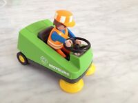 Playmobil 3790 recycling street sweeper collectable