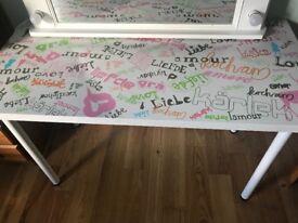 Girls desk / dressing table