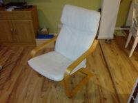 IKEA comfy bouncing armchair.....