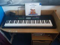 Casio CTK-3400SK Electric Keyboard + Power Lead