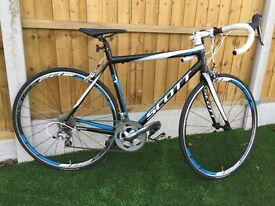 Scott Speedster S30 Compact Road Bike M (54) 2014 - ONLY 8 DRY MILES