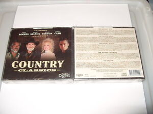 COUNTRY CLASSICS-5 CD BOXSET-READERS DIGEST-2011-124 TRACKS-NEW & SEALED