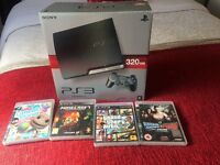 PS3 320gb - 4 games