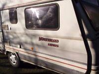1991 Lord Munsterland Luxus 3 berth Caravan