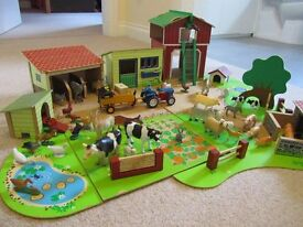 Early learning centre farm and carry case