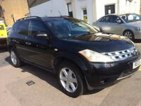 NISSAN MURANO 3.6 V6 AUTOMATIC PETROL JEEP SAT NAV LEATHERS REVERSE CAMERA TRADE CUSTOMER ONLY!!