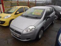 fiat grande punto 1.2 active 3dr 2007 model 84,000 miles,full mot on purchase,low insurance group