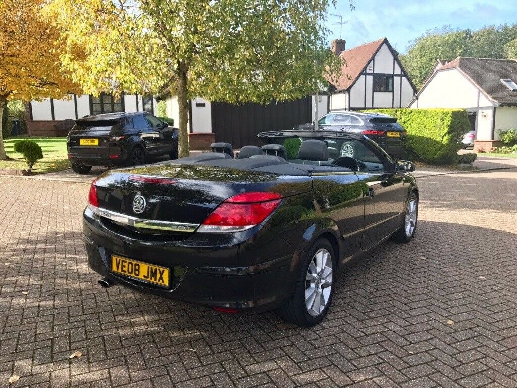 Vauxhall Astra diesel 2008 convertible