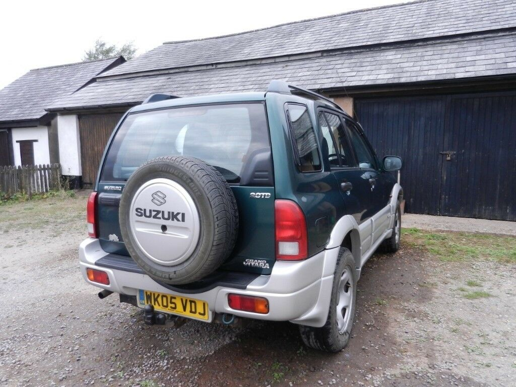 Suzuki Grand Vitara 20 Td 5 Door 2005 Mot March 2019 Towbar Tow Bar Electrics