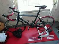 Kona Zing Road Bike and Turbo Trainer
