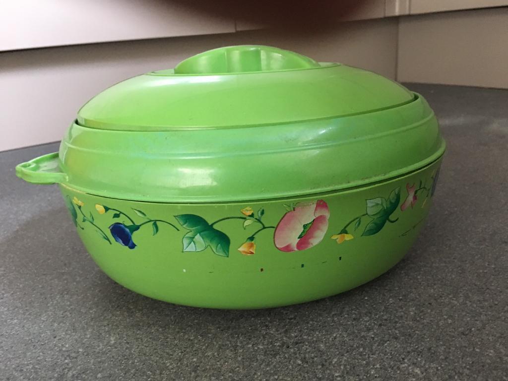 Insulated warmer pot