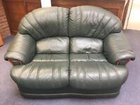 Free to collector - 2 seater leather sofa good condition