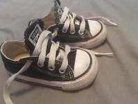 Infant size 4 converse