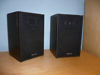 Technics SB-F33 Speakers 60 Watts 8 Ohm - Excellent Condition