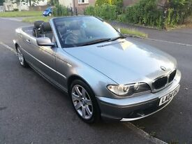 Immaculate BMW 3 series Convertible automatic low milage