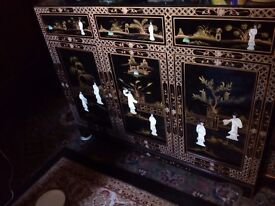 Oriental mother of pearl sideboard forsale