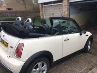 Mini Converible 1.6 2008, FSH, fully auto roof, heated sport seats, cruise control, Mini Pepper Pack