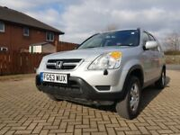2003 53 Honda CRV** 2 Litre Petrol** SPARES OR REPAIR * Long MOT End OCT 18*