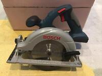 New Bosch GKS 18V-LI Professional Circular Saw