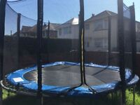 10ft Acrobatic Trampoline, great condition.