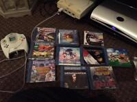 Sega Dreamcast, games , pad steering wheel