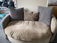 Two seater & three seater sofas