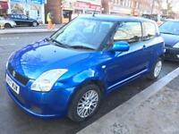 Suzuki Swift Blue 1.3L MOT until November 2018