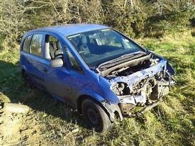 Vauxhall MERIVA for breaking....